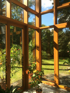 Wintergarten Holz Alu