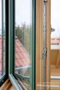 Wintergarten Holz Alu Fenster